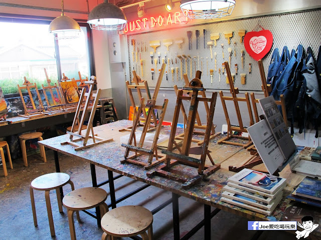 IMG 6485 - CMYK GALLERY | 集會畫教室、藝廊、餐廳於一身的特色餐廳,色彩繽紛的用餐環境,令人賞心悅目,也讓網美們為之瘋狂!