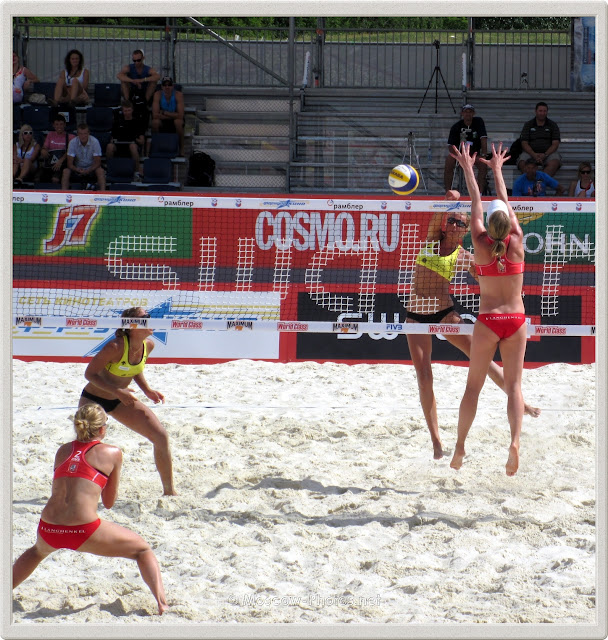 FIVB Beach Volleyball Swatch Moscow World Tour 2011