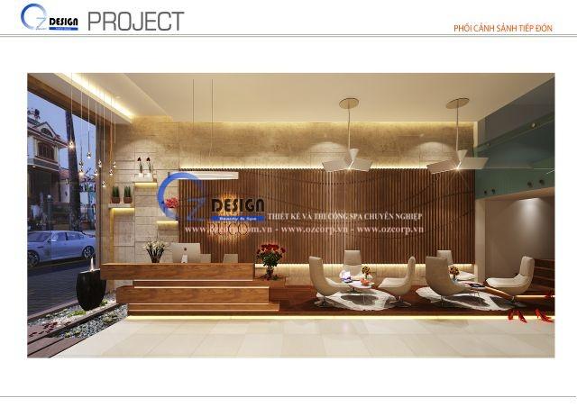 Thiết kế thi công Ruco Spa quận 1