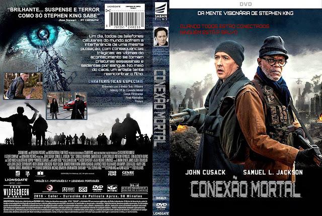 Capa DVD Conexão Mortal