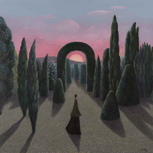 """Sunset Walk"" by Alan Parry - 2018 