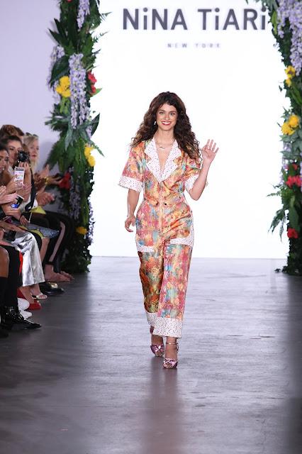 Designer Nina Tiari NYFW ss 18