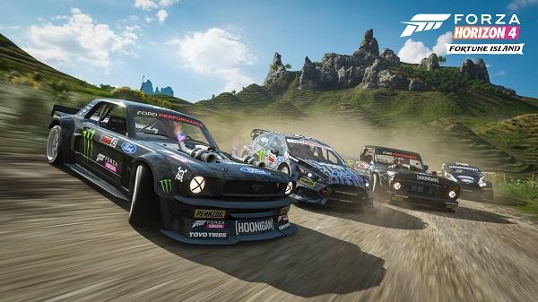 Forza Horizon 4: Fortune Island Gameplay