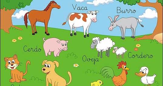 Te Cuento Un Cuento Animales De La Granja Para Colorear