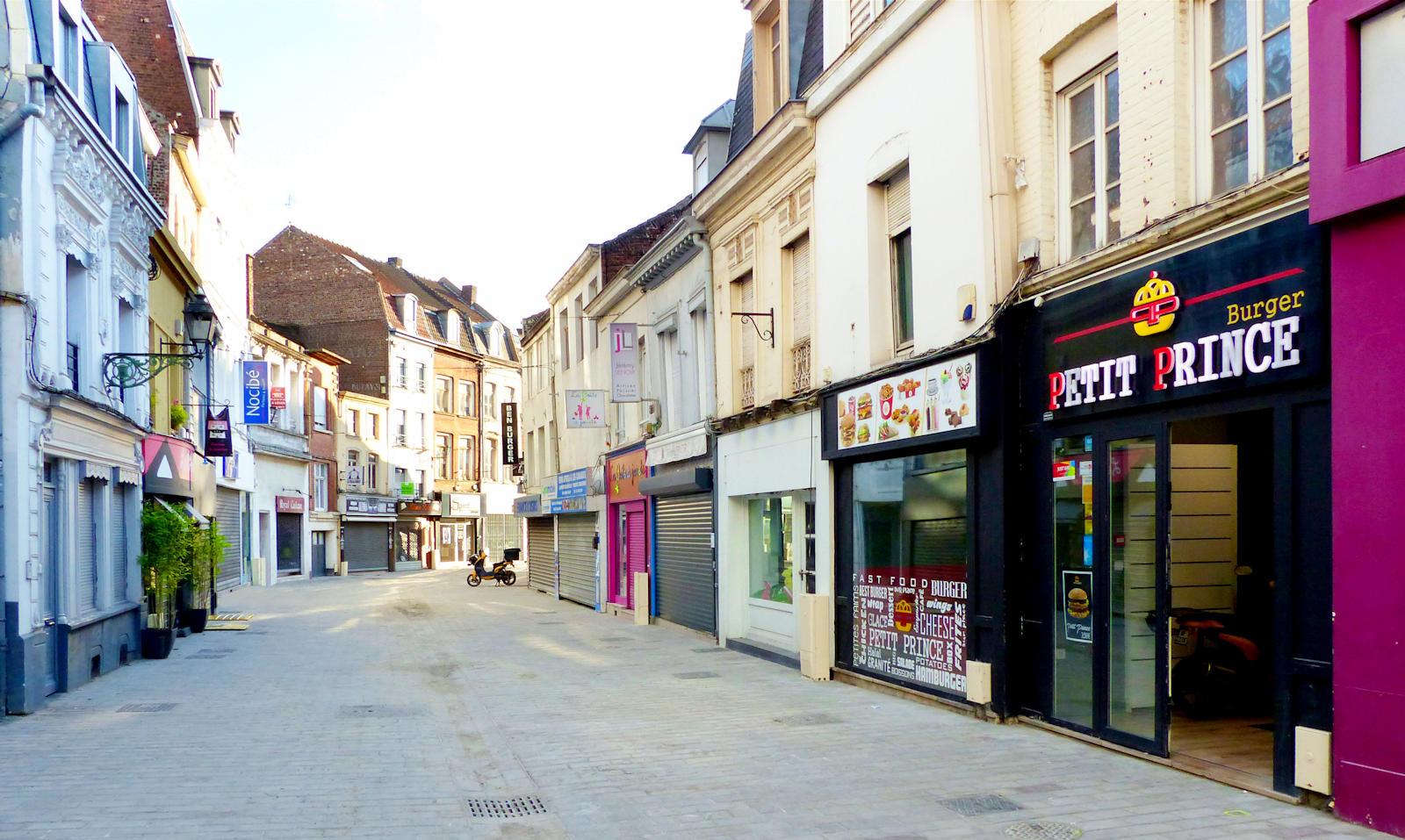 Restauration rapide Petit Prince Burger - Tourcoing centre