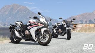 download mod moto Honda CBR500R 2018 para GTA 5