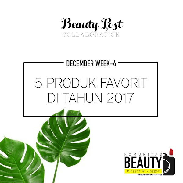 My TOP 5 Favorite Products [2017 Edition]