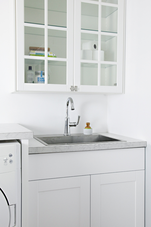 Drop In Laundry Room Sink : IHeart Organizing: Laundry Room Update: Installing a Drop-in Sink