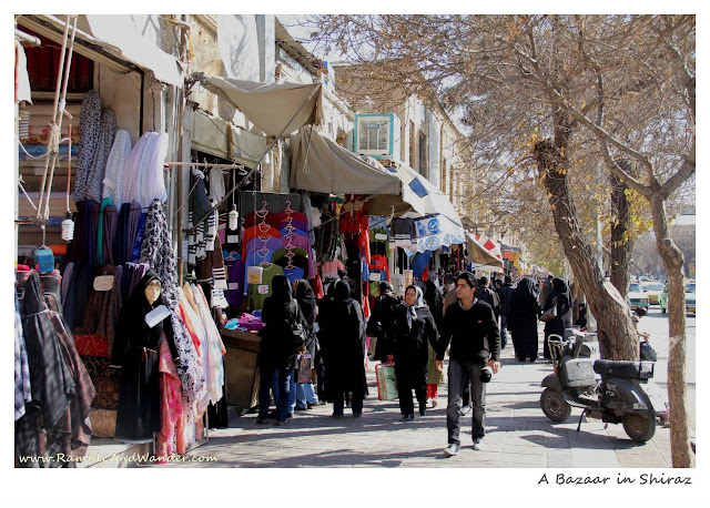 Iran: Vakeel Bazaar, Shiraz - Ramble and Wander