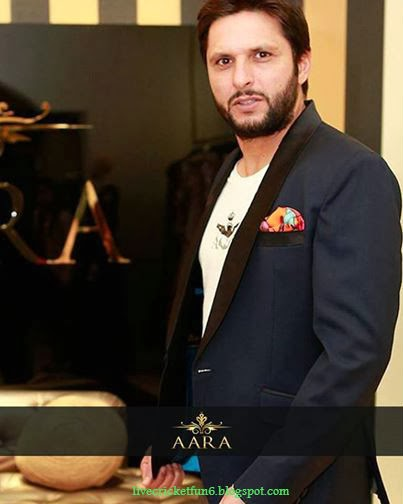 Shahid Afridi 2015 Pakistan Cricketer Wallpaper free