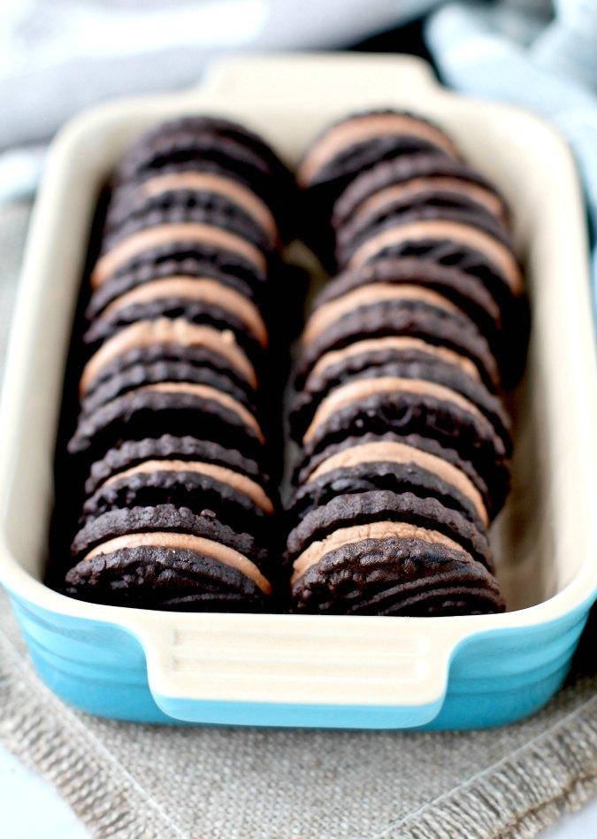Copycat BraveTart Oreo cookies