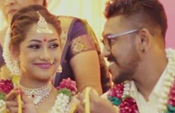 Wedding Highlight of Vengadeshwaran and Nathiya
