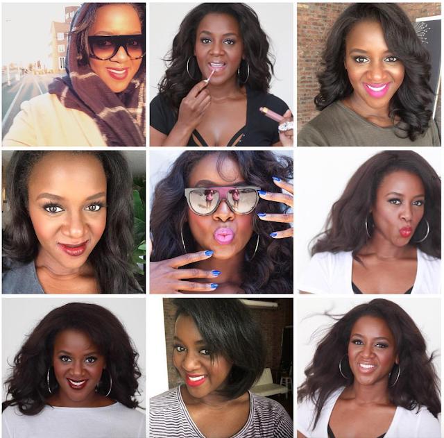 Batons-Blogueira negra inspiração: The Style and Beauty Doctor