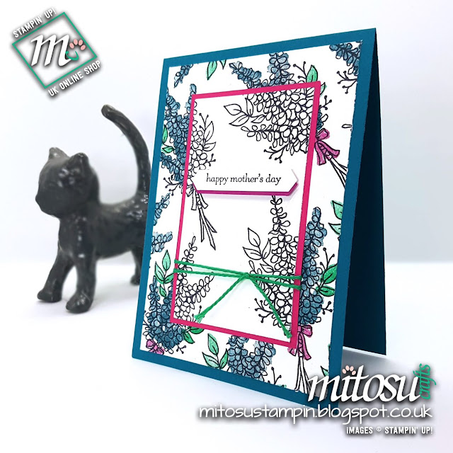 Stampin' Up! Lots of Lavender SU Card Idea SAB 2018 order from Mitosu Crafts UK Online Shop