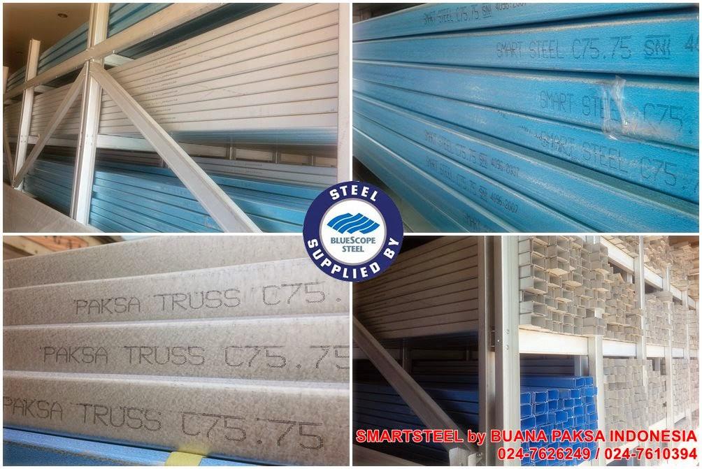 Distributor Baja Ringan Di Cilacap Rangka Atap Bersistem Purwokerto Banyumas