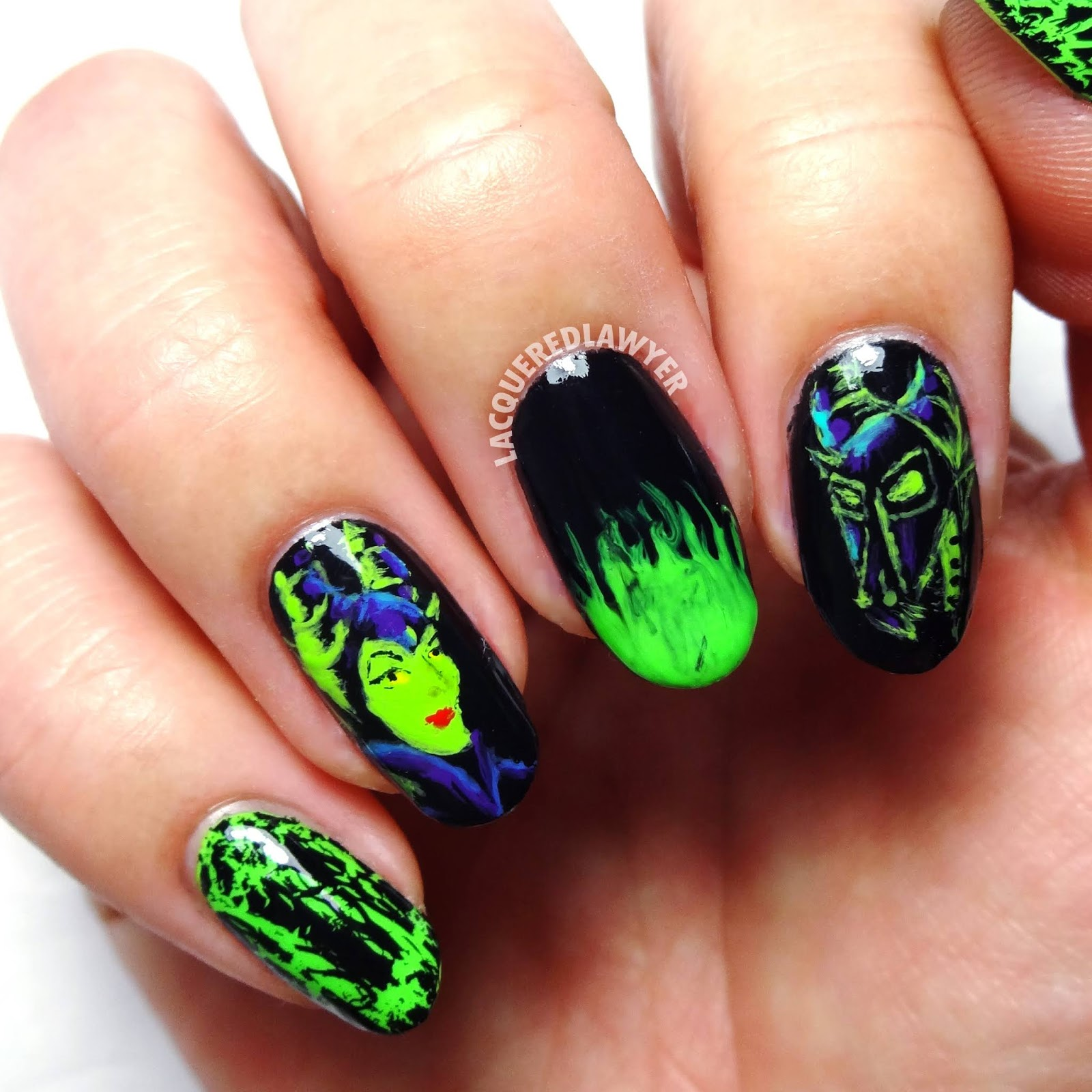 Lacquered Lawyer Nail Art Blog Mistress Of All Evil