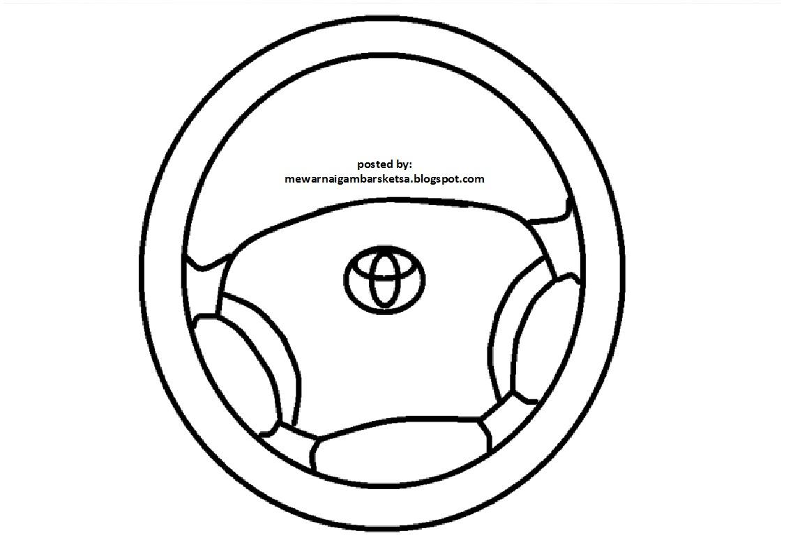 Kumpulan Gambar Sketsa Stir Mobil