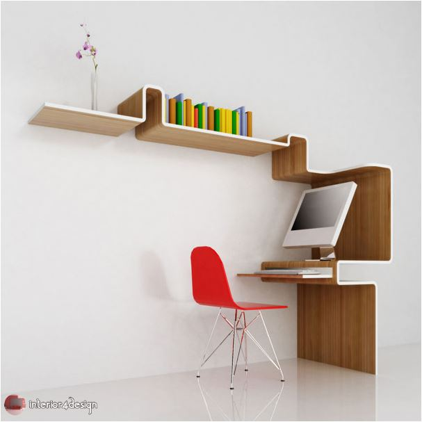 70 Best Bookshelf Designs 22