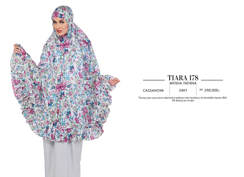 Jual Busana Muslim Cantik Baju Murah Mukena Terbaru Tatuis Tiara 235 Peach Season 3