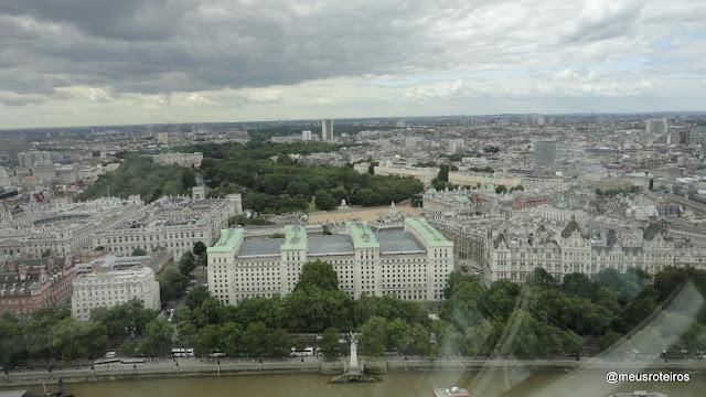 Vista panorâmica da London Eye - Londres