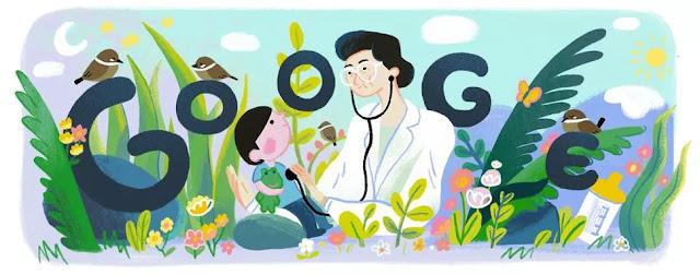 Google Doodle honors metal Del Mundo, pioneering Filipino paediatrician
