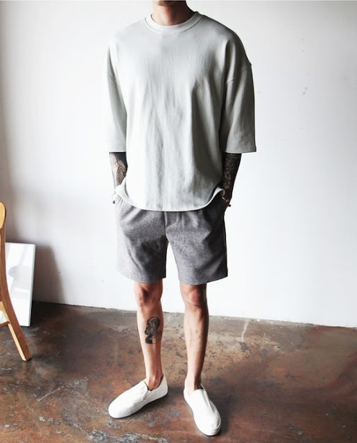 Look Masculino com Peças Oversized