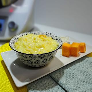 Risotto de Calabaza fácil de hacer y delicioso con thermomix