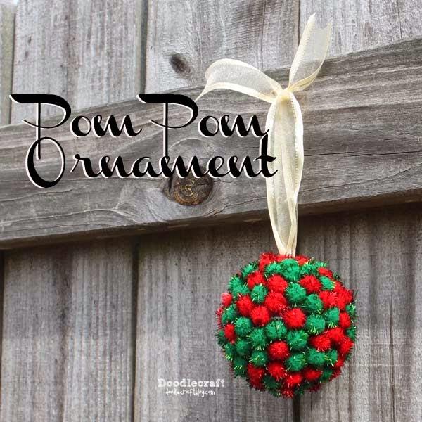 http://www.doodlecraftblog.com/2014/12/pom-pom-ornament.html