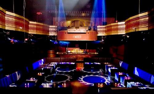 Balada Webster Hall em Nova York