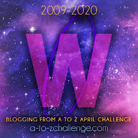 #AtoZChallenge 2020 Blogging from A to Z Challenge letter W