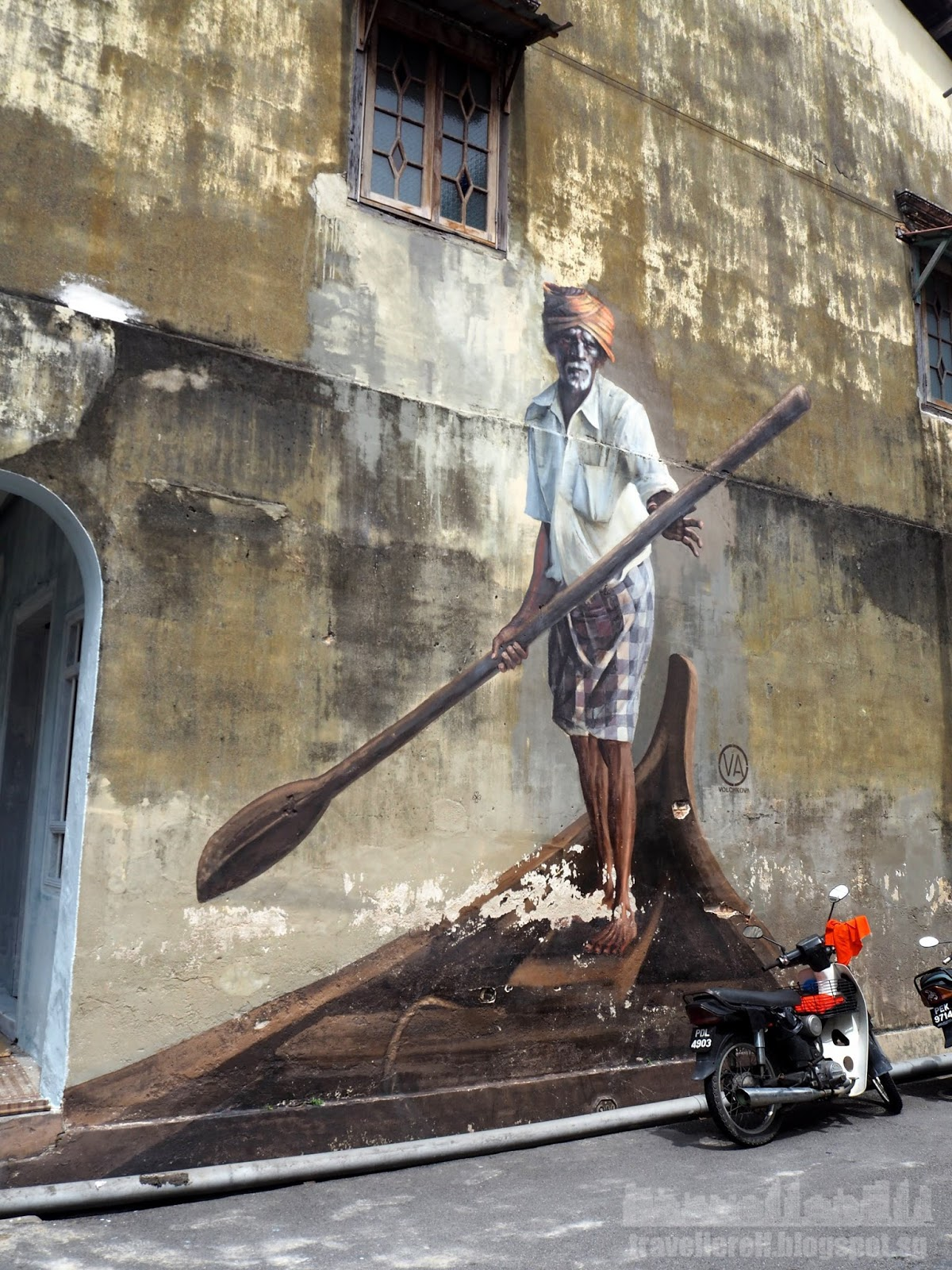 Travellerelf malaysia for Mural 1 malaysia negaraku