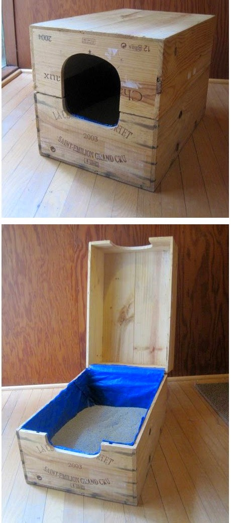 15 Creative Diy Projects To Hide The Litter Box