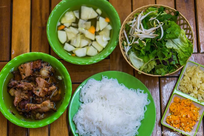 Bún Chả Traditional Vietnamese Food