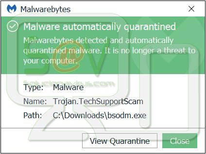 Trojan.TechSupportScam