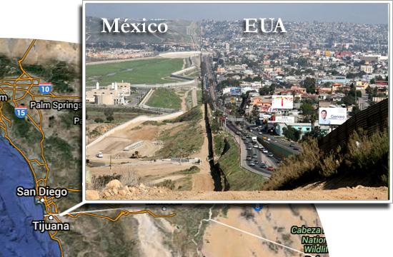 Fronteiras pelo mundo-México e EUA