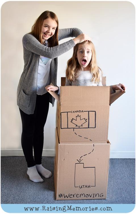 We're Moving to Utah www.RaisingMemories.com
