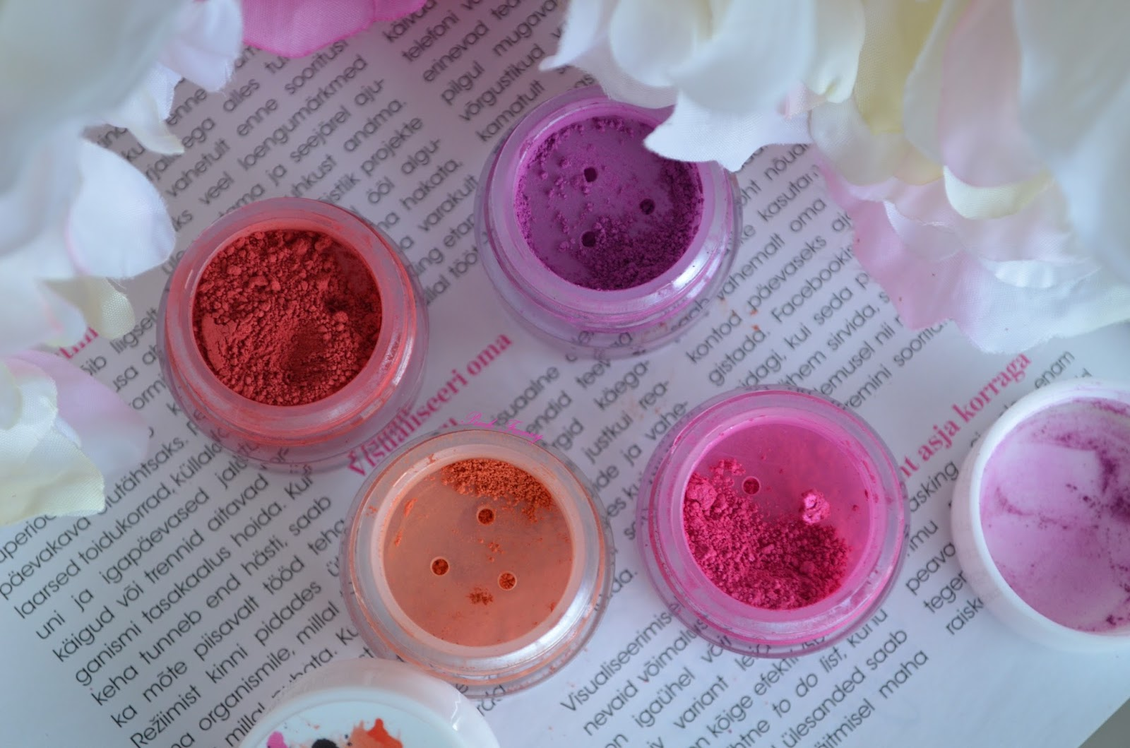 Pink Frenzy: Review: Concrete Minerals Eyeshadows & Pro