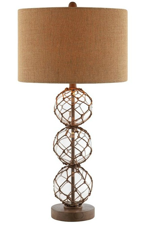 Net Glass Float Lamp