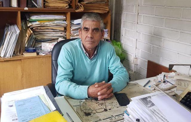 Humberto Ulloa Apablaza, vocero de las cinco entidades de taxi colectivos de Osorno