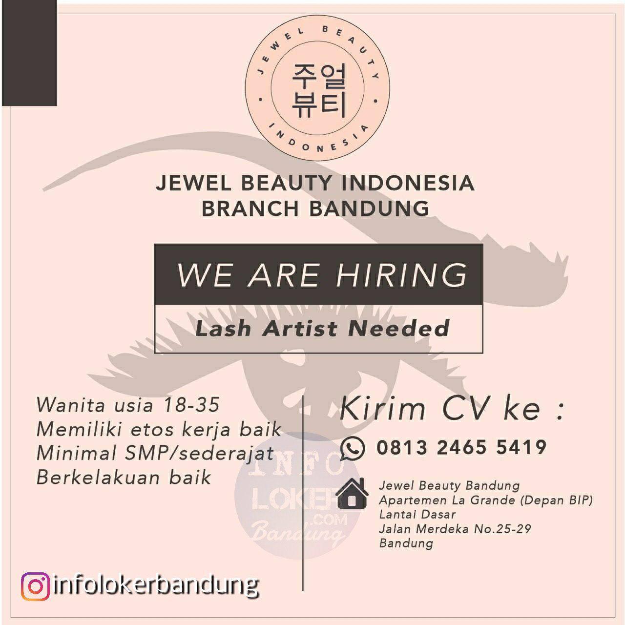 Lowongan Kerja Jewel Beauty Indonesia Bandung Agustus 2018