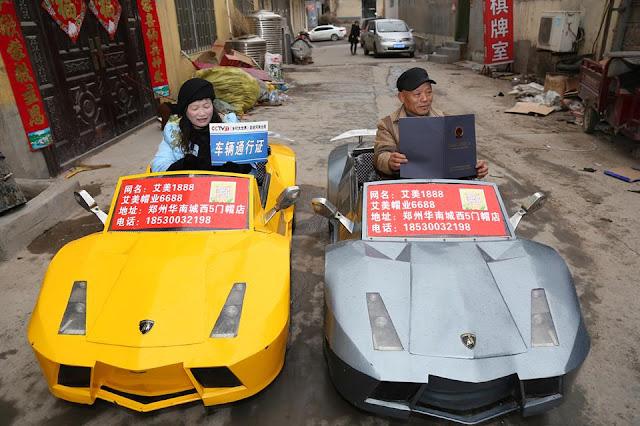 Homemade Lamborghini lawson james blog news