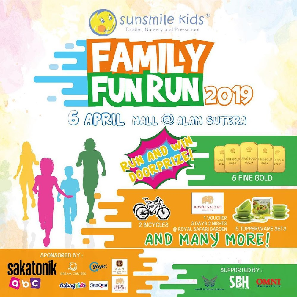 Sunsmile Kids - Family Fun Run • 2019