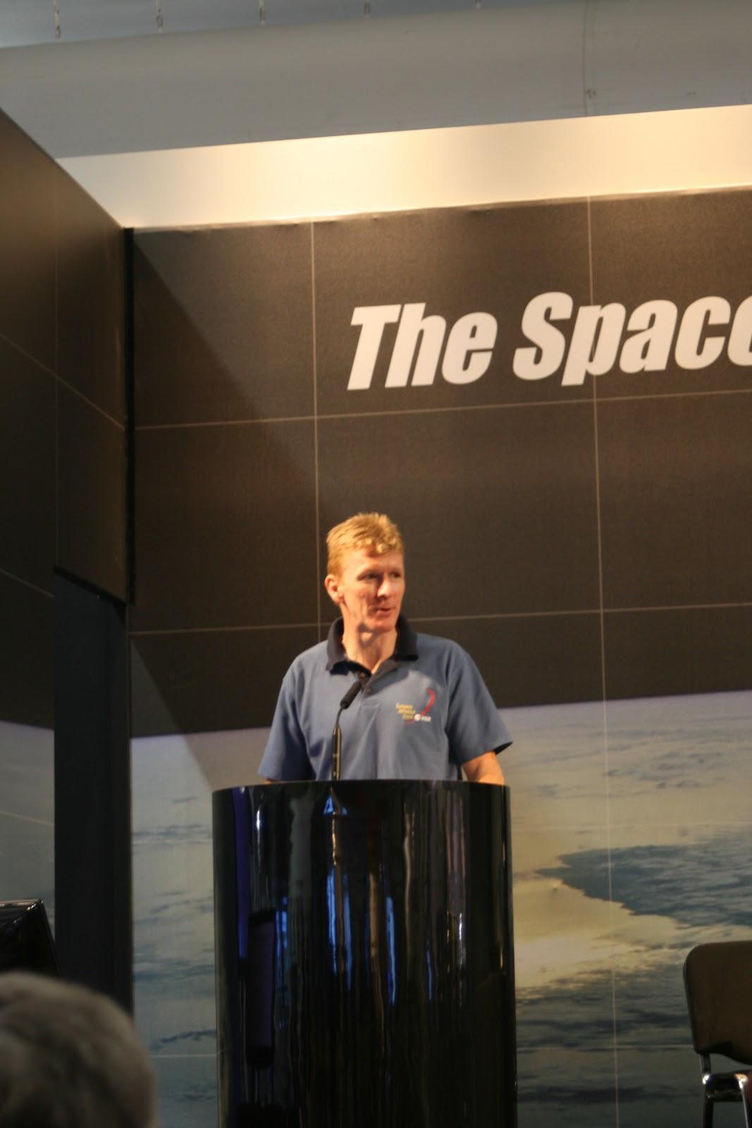 FIA Spacezone: Careers Day – Astronaut Tim Peake – Dr Jane MacArthur