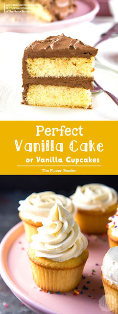 The Best Vanilla Cake Soft and Buttery Vanilla Cake