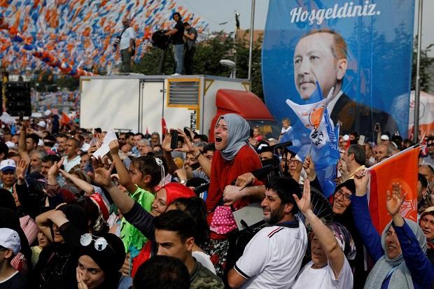 Pemilu Turki, Pertaruhan bagi Erdogan yang 16 Tahun Berkuasa