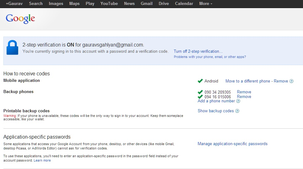 how to make a google account without verification code