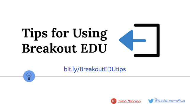 Breakout EDU setup - la matrice