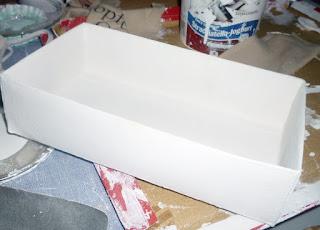 TEtrapack anmalen  - Basteln mit Muscheln - DIY vonKarin