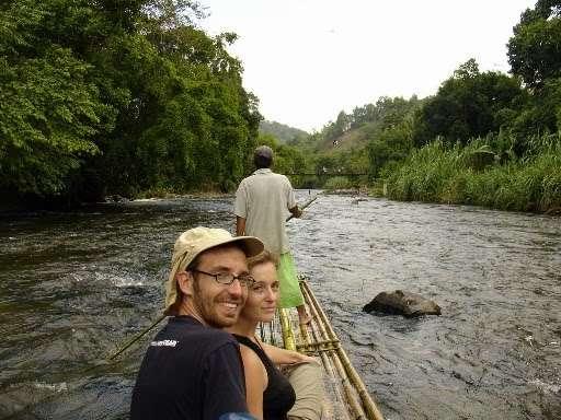 Bamboo Rafting di Loksado