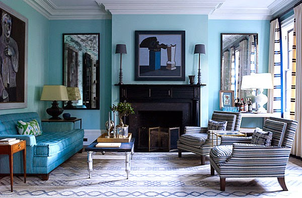 desain+interior+ruang+tamu+minimalis+warna+biru